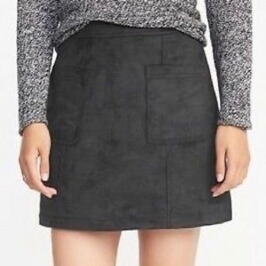 NWOT Old Navy Sueded Utility Miniskirt 6